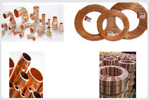 COPPER PIPES,TUBES